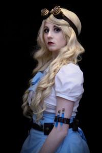 Steampunk Alice in Wonderland by Bulleblue Cosplay