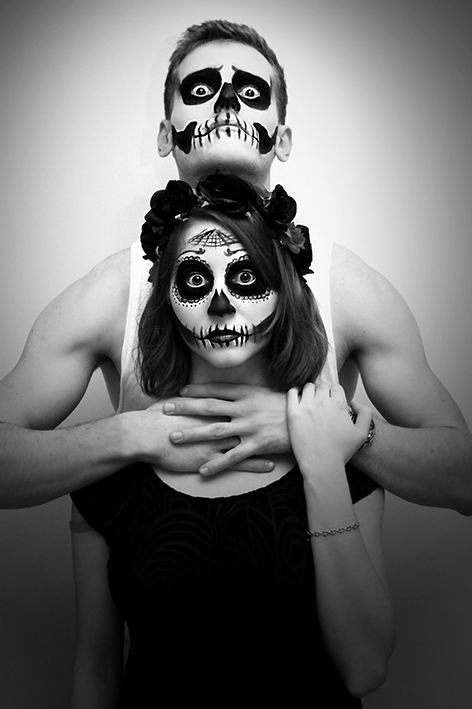 Halloween The day of the dead Bulleblue Cosplay