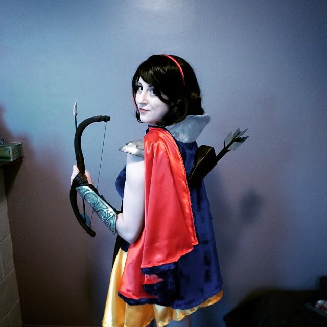 RainbowUnicornKitty.com Snow White Disney Warrior Coslay
