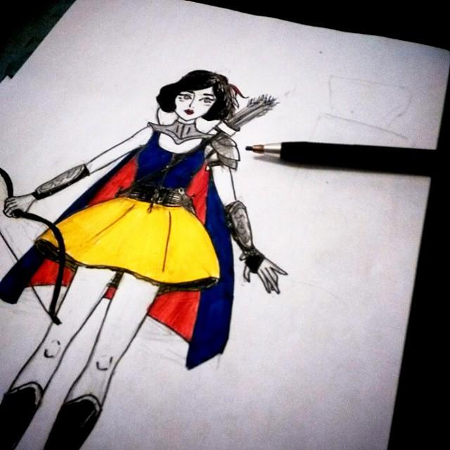 Cosplay Snow White RainbowUnicornKitty.com