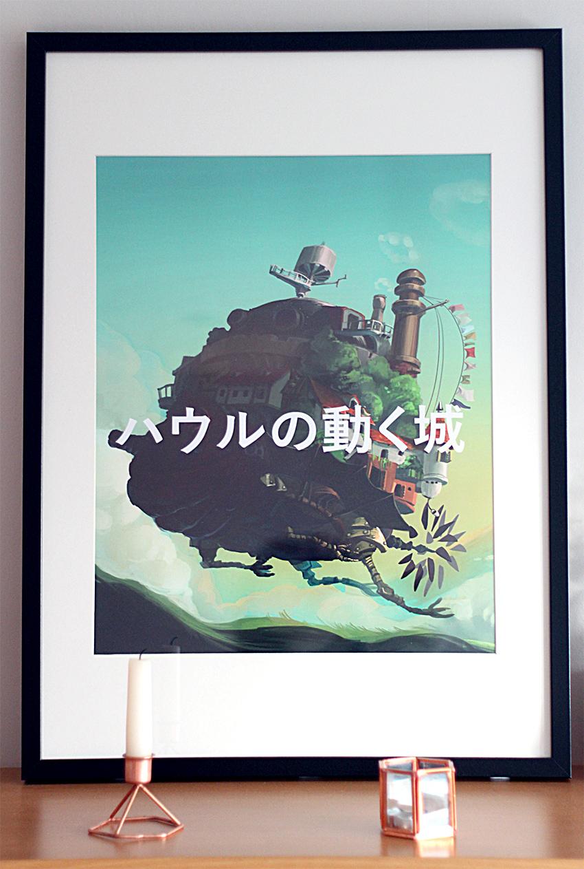 Déco deco tableau picture Miyazaki