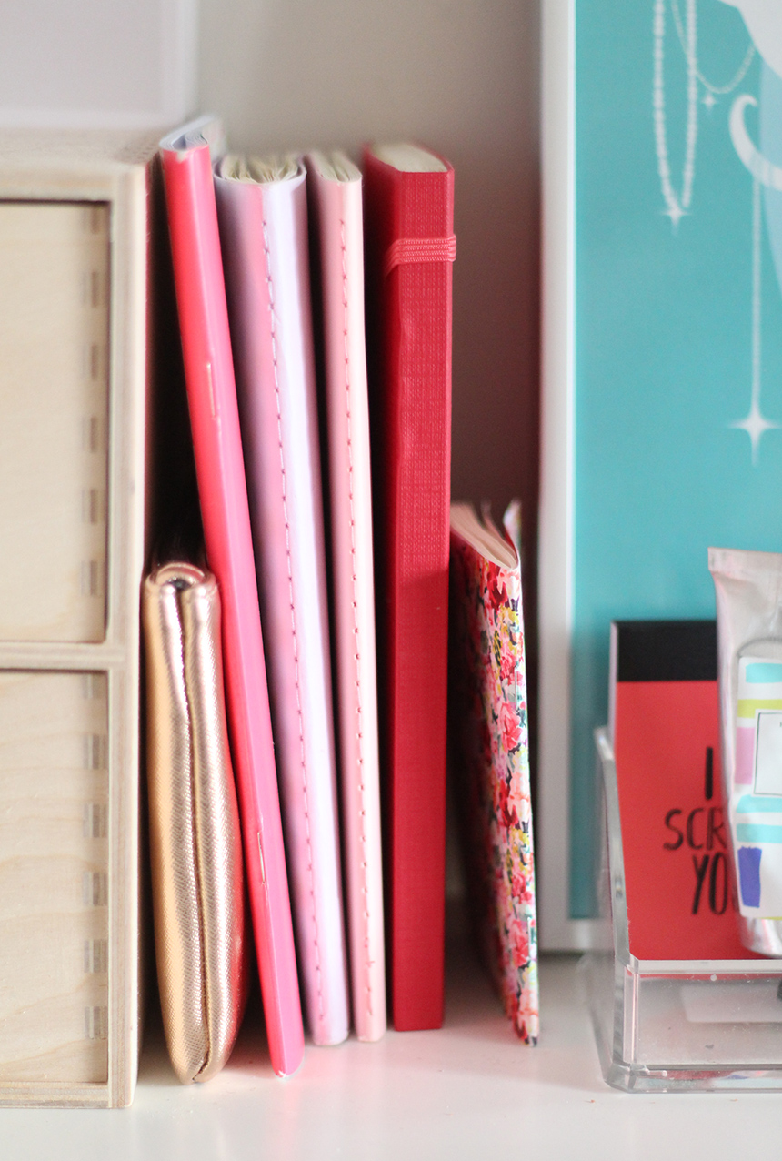 Déco cahiers carnets notebooks