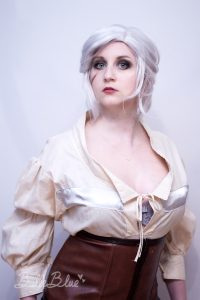 Bulleblue Cosplay Ciri The Witcher