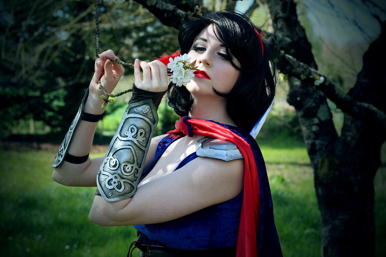 Warrior Snow White Bulleblue Cosplay