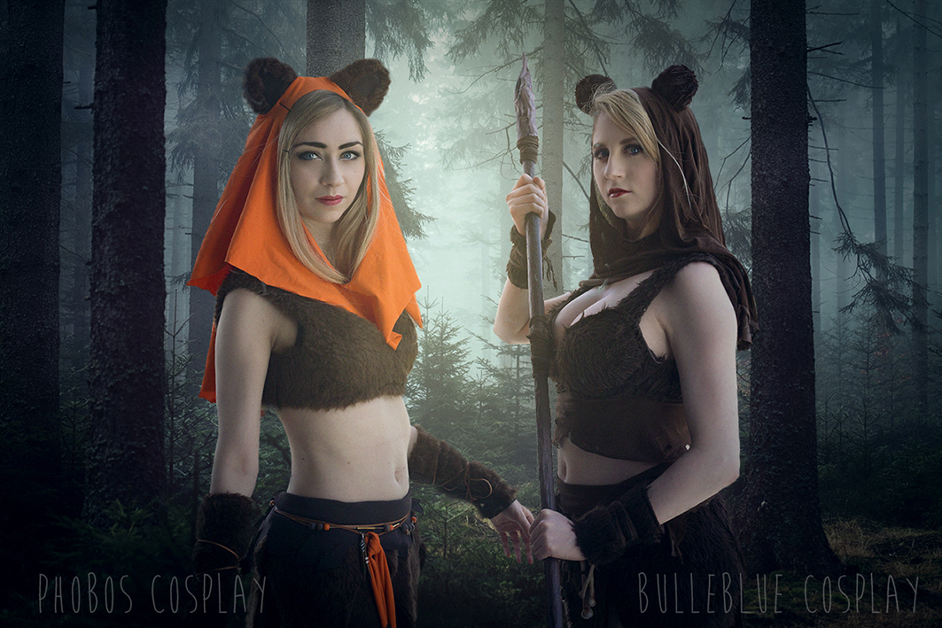 Star Wars Ewok Bulleblue Cosplay