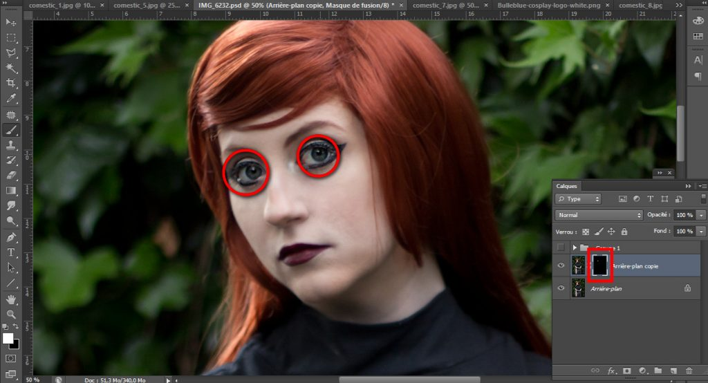 Bulleblue Cosplay - 5 tips to edit your cosplay pictures with Photoshop