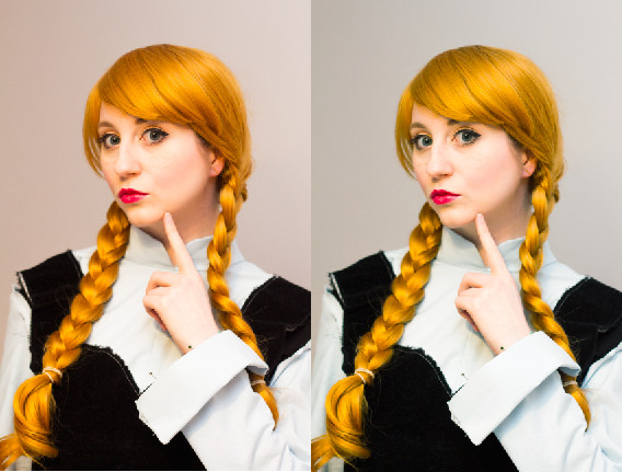 Bulleblue Photoshop Cosplay Picture tutorial