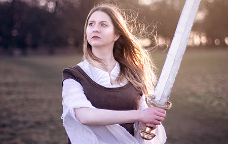 Bulleblue Cosplay Eowyn Lord of the rings