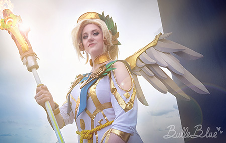 Bulleblue Mercy Winged Victory Overwactch