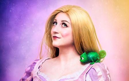 Bulleblue Cosplay Rapunzel Disney